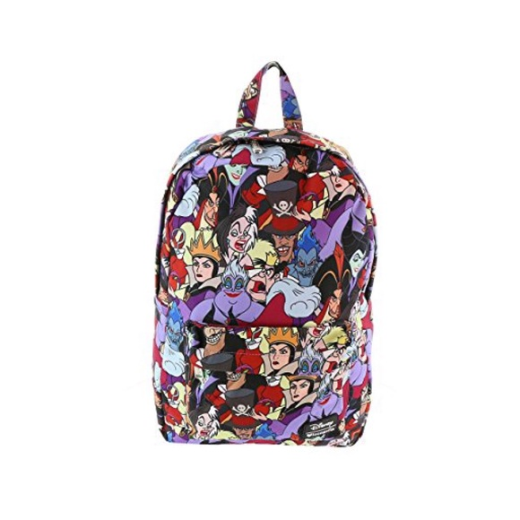 Disney villain canvas backpack hot topic